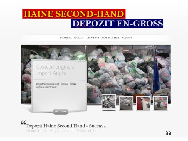 Depozit Haine Second Hand Suceava – Webdesign Site Depozit Haine second Hand Suceava
